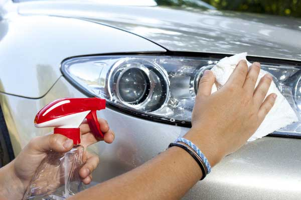 How to Clean Your Car Headlights at Home
