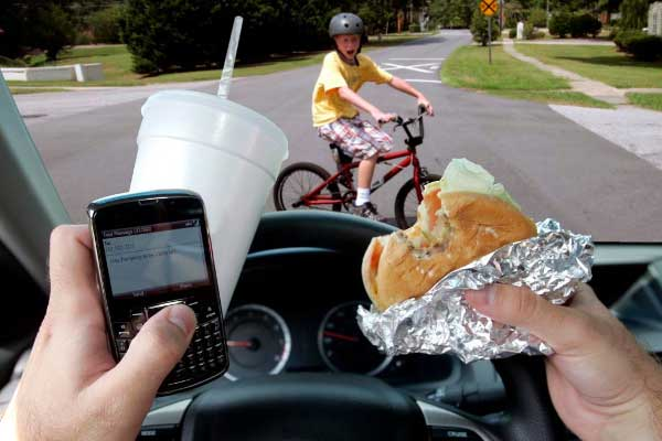 The 7 Deadly Driver Distractions